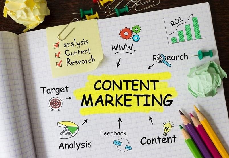 estrategia de marketing de contenidos para SEO
