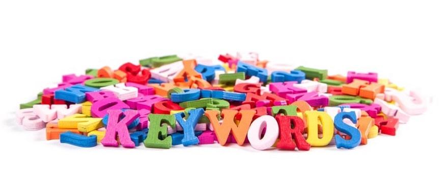 investigación de palabras clave