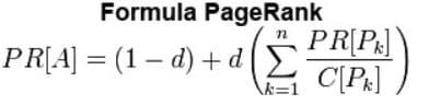 fórmula pagerank google